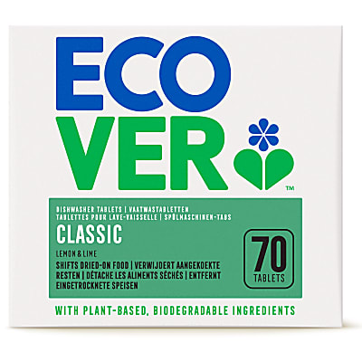 Ecover Classic Dishwasher Tablets XL - 70 tablets