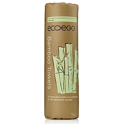 Eco Egg Bamboo Reusable Towels (up to 1700 uses)