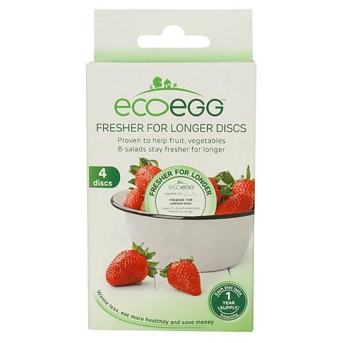 Eco Egg Fresher For Longer Discs - 4 pack