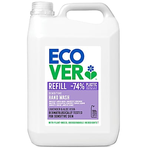 Ecover Lavender & Aloe Vera Hand Soap Refill 5L