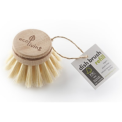 Eco Living Dish Brush - Replacement Head
