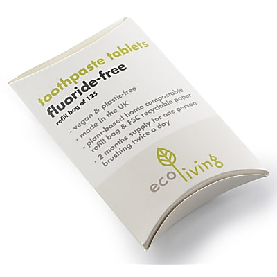 Eco Living Toothpaste Tablets - Refill  (flouride free)