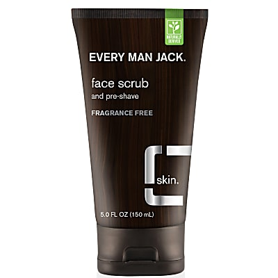 Every Man Jack Face Charcoal Scrub - Fragrance Free