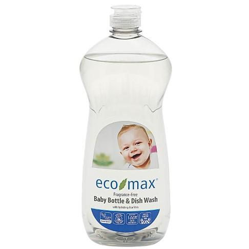 Eco-Max Baby Bottle & Dish Wash - Fragrance-Free
