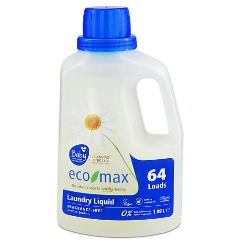 Eco-Max Baby Non-Bio Laundry Liquid - Fragrance-Free (50 washes)