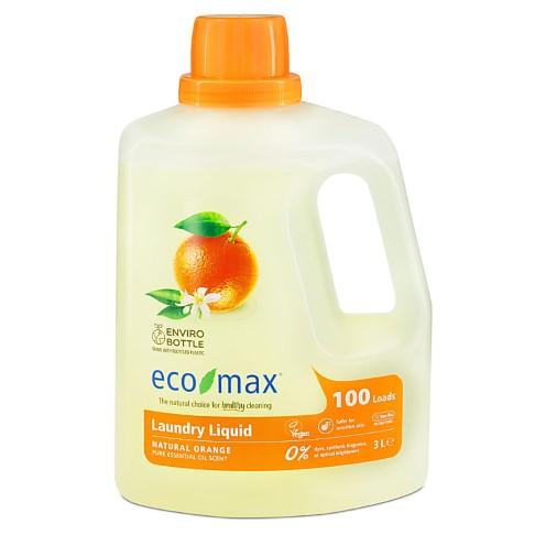 Eco-Max Non-Bio Laundry Liquid - Natural Orange (100 washes)