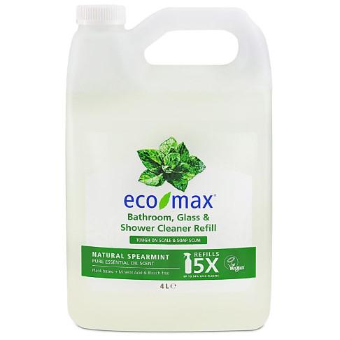 Eco-Max Bathroom & Shower Cleaner - Natural Spearmint 4L