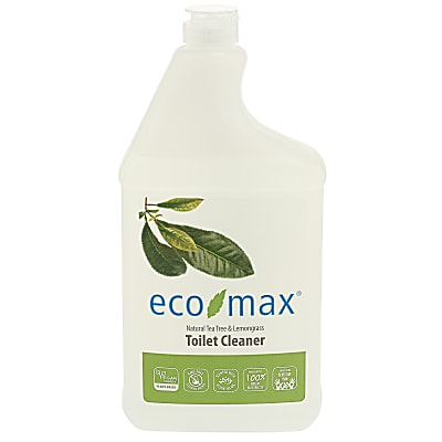 Eco-Max Toilet Cleaner - Natural Tea Tree & Lemongrass 1L