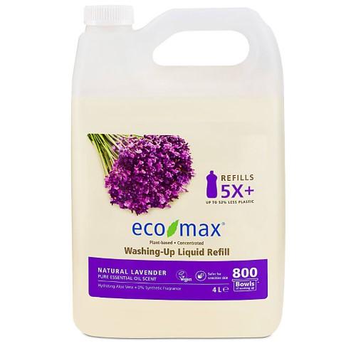 Eco-Max Washing-Up Liquid - Natural Lavender 4L