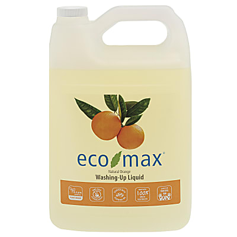 Eco-Max Washing-Up Liquid - Natural Orange 4L