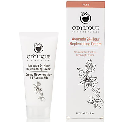 Odylique by Essential Care Avocado 24-Hour Replenishing Cream - 15ml Travel size