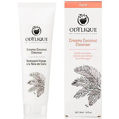 Odylique by Essential Care Creamy Coconut Cleanser - 30ml Travel Size