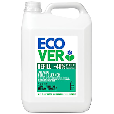 Ecover Toilet Cleaner Pine & Mint Refill - 5L