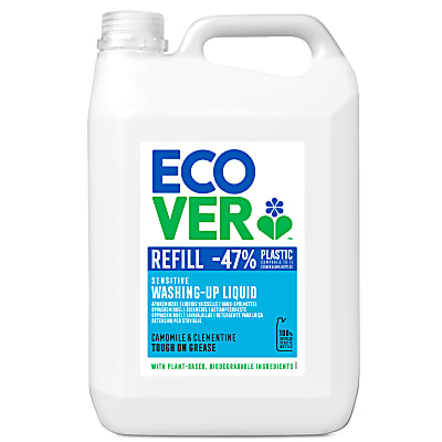 Ecover Washing-up Liquid Camomile & Clementine Refill 5L
