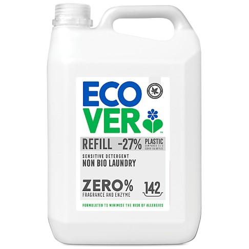 Ecover ZERO Ultra Sensitive Non Bio Laundry Liquid Refill - 5L