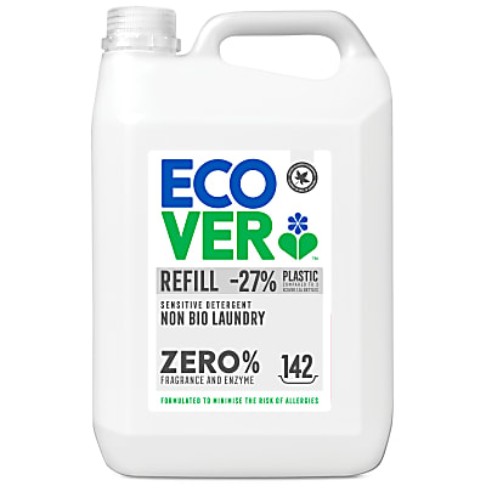 Ecover ZERO Sensitive Non Bio Laundry Liquid Refill - 5L