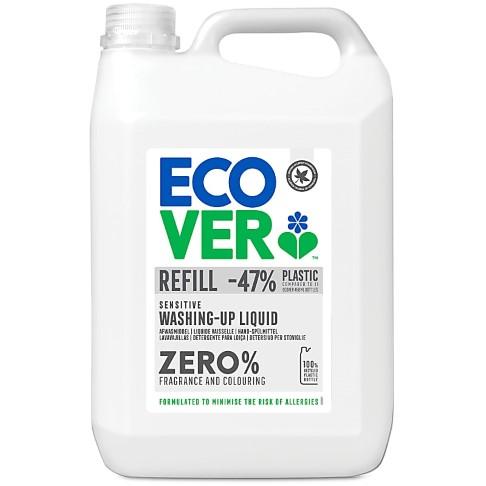 Ecover ZERO Washing Up Liquid - 5L