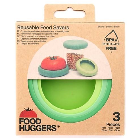 Food Huggers® Set of 3 Big Hugs Soft Greens