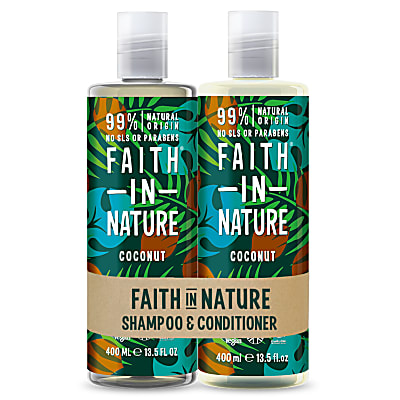 Faith in Nature Coconut Banded Shampoo & Conditioner
