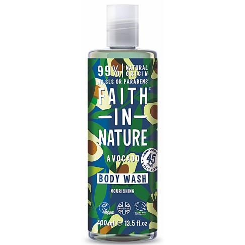 Faith in Nature Avocado Body Wash - 400ml