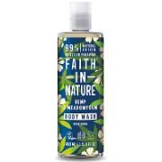 Faith in Nature Hemp & Meadowfoam Shower Gel & Foam Bath