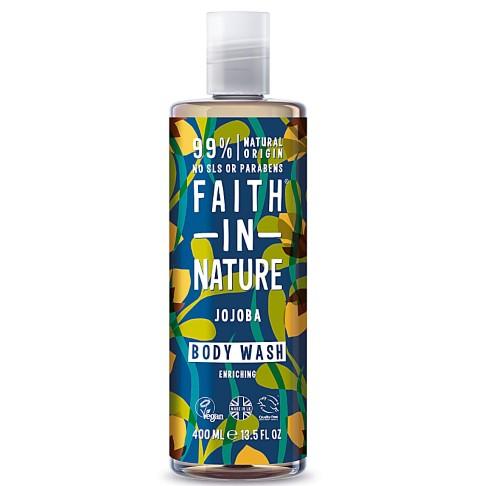 Faith in Nature Jojoba Body Wash - 400ml