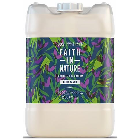 Faith in Nature Lavender & Geranium Body Wash - 20L