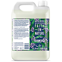 Faith in Nature Tea Tree Shower Gel & Foam Bath - 5L