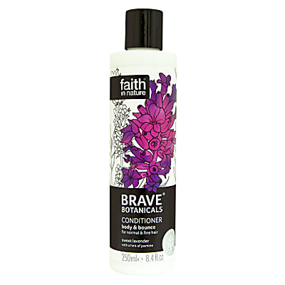 Faith in Nature Brave Botanicals Lavender & Jasmine Body & Bounce Conditioner