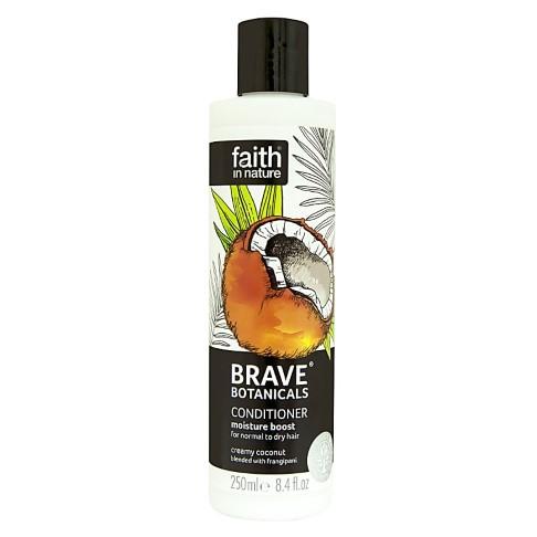 Faith in Nature Brave Botanicals Coconut & Frangipani Moisture Boost Conditioner