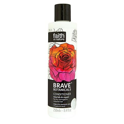 Faith in Nature Brave Botanicals Rose & Neroli Nourish & Repair Conditioner