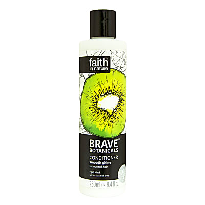 Faith in Nature Brave Botanicals Kiwi & Lime Smooth Shine Conditioner