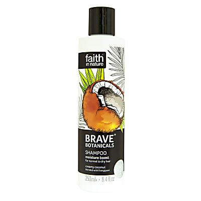 Faith in Nature Brave Botanicals Coconut & Frangipani Moisture Boost Shampoo