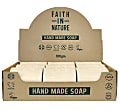 Faith in Nature Box of 18 Unwrapped Natural Hand Made Hemp Soaps
