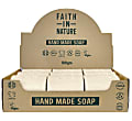 Faith in Nature Box of 18 Unwrapped Natural Hand Made Lavender Soaps
