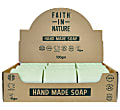 Faith in Nature Box of 18 Unwrapped Natural Hand Made Rosemary Soaps