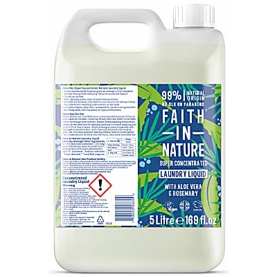 Faith in Nature Super Concentrated Laundry Liquid - 5L