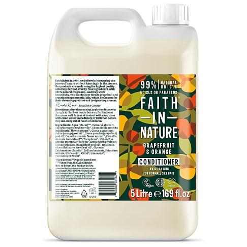 Faith in Nature Grapefruit & Orange Conditioner - 5L