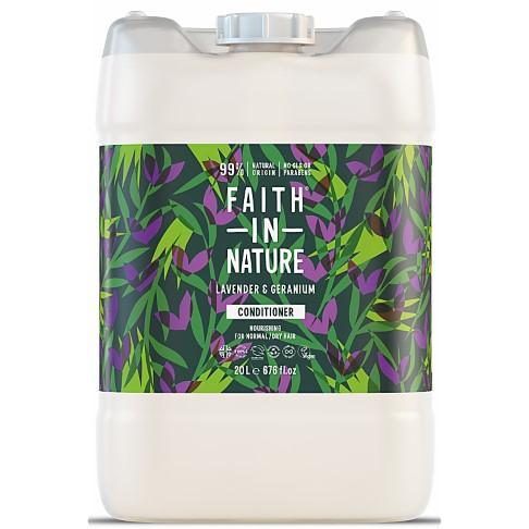 Faith in Nature Lavender & Geranium Conditioner - 20L