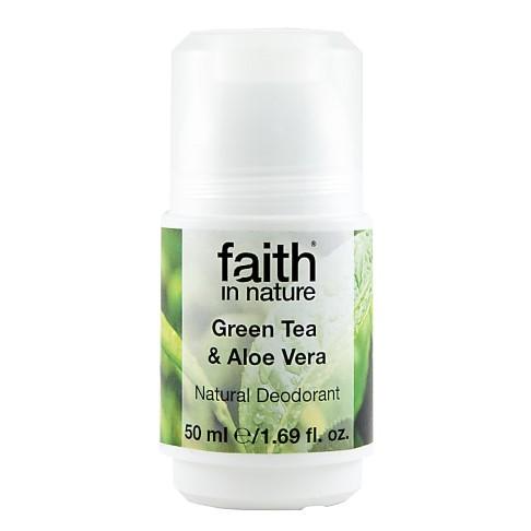 Faith In Nature Aloe Vera & Green Tea Roll On Deodorant
