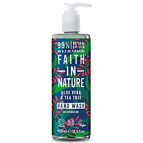 Faith in Nature Aloe Vera & Tea Tree Hand Wash - 400ml