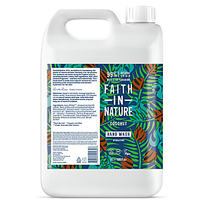 Faith in Nature Coconut Hand Wash 5L