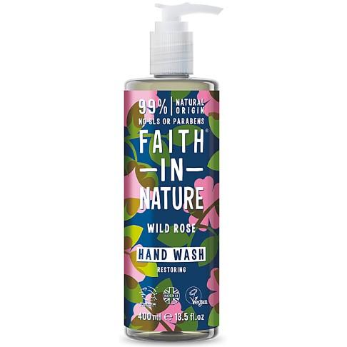 Faith in Nature Wild Rose Hand Wash