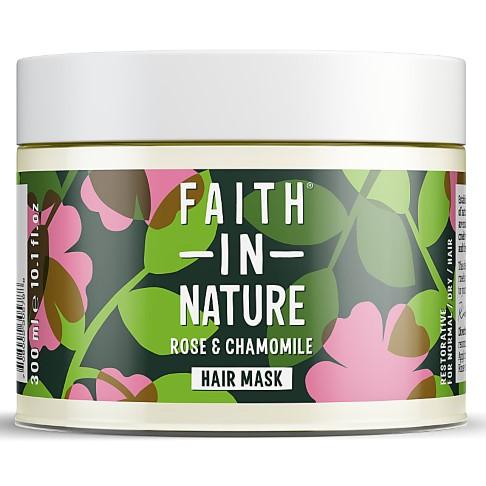 Faith in Nature Wild Rose & Chamomile Restoring Hair Mask