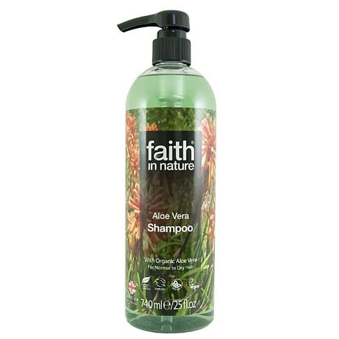 Faith in Nature Aloe Vera Shampoo - 740ml