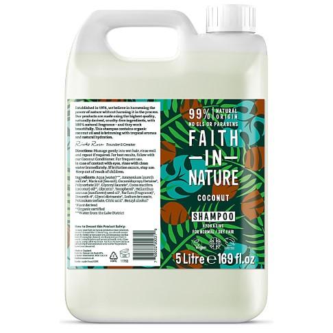 Faith in Nature Coconut Shampoo 5L