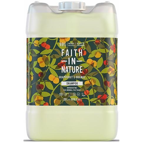 Faith in Nature Grapefruit & Orange Shampoo - 20L