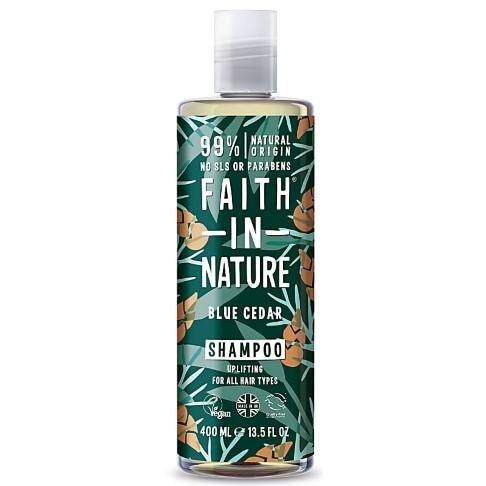 Faith in Nature Blue Cedar Shampoo