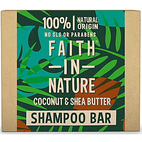 Faith in Nature Coconut & Shea Butter Shampoo Bar
