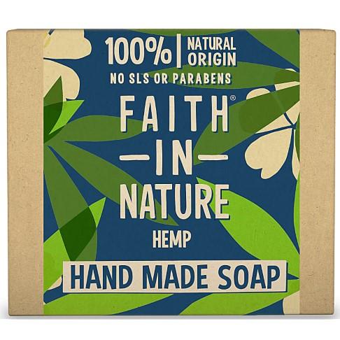 Faith in Nature Hand Made Hemp Soap